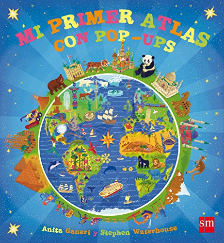 9788467556551: Mi primer atlas con pop-ups