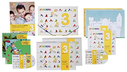 9788467560756: Colorines, Educación Infantil, 3 años. 3 trimestre