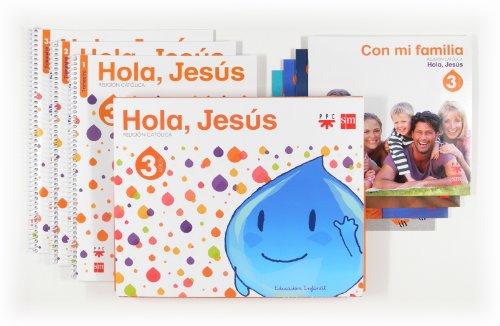9788467561036: Religión católica. 3 años. Hola, Jesús