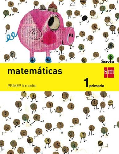 9788467570182: Matemáticas. 1 Primaria. Savia - Pack de 3 libros - 9788467570182