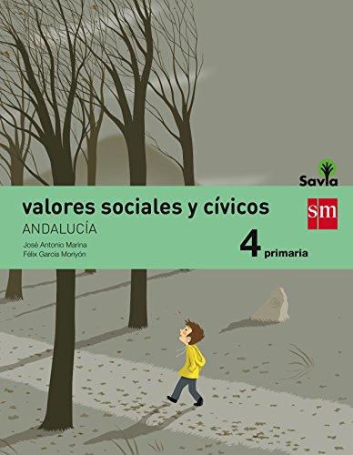 9788467575644: (AND).(15).VALORES SOCIALES CIVICOS 4º PRIMARIA (SAVIA)