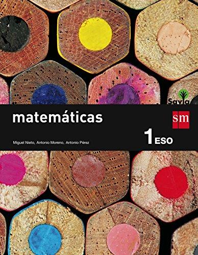 9788467575941: Eso 1 - matematicas - savia