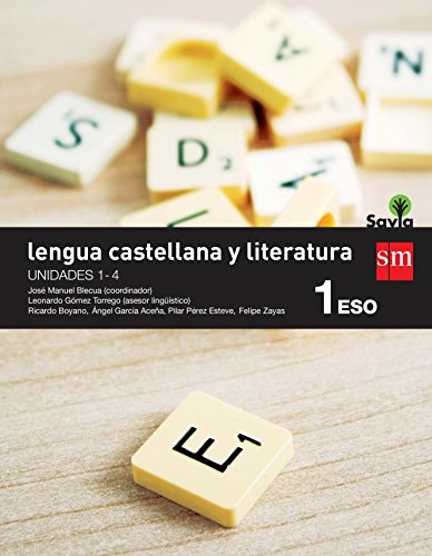 9788467577938: Lengua castellana y literatura. 1 ESO. Savia. Trimestres