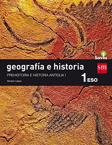9788467586688: Geografía e historia. 1 ESO. Savia: Cantabria, Navarra y La Rioja - 9788467586688