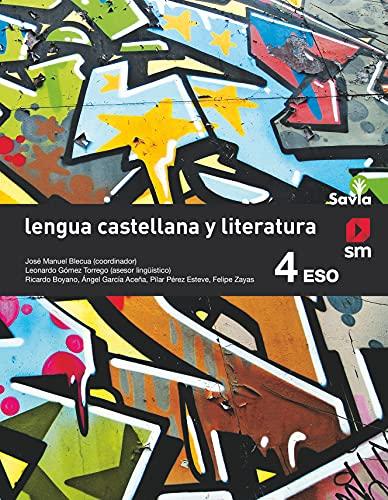 9788467586947: Lengua castellana y literatura. 4 ESO. Savia