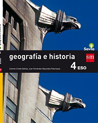 9788467586954: Geografía e historia. 4 ESO. Savia - 9788467586954