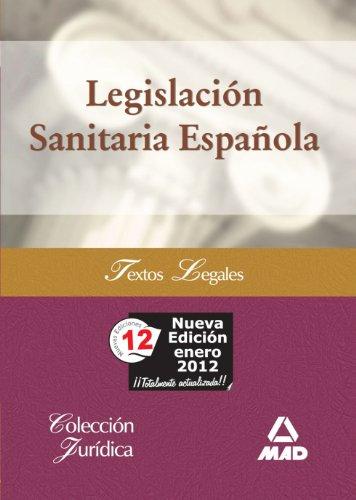 9788467600421: Legislación Sanitaria Española (Spanish Edition)