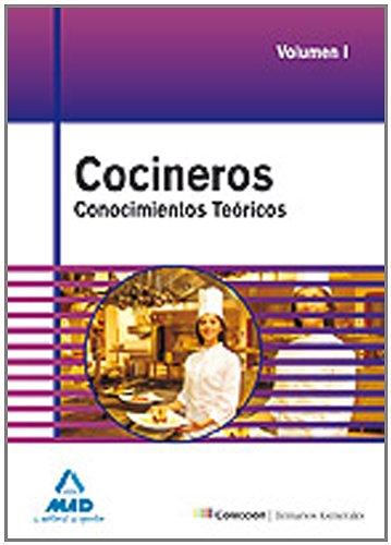 9788467620375: Cocineros. Temario General. Conocimientos Teóricos. Volumen I