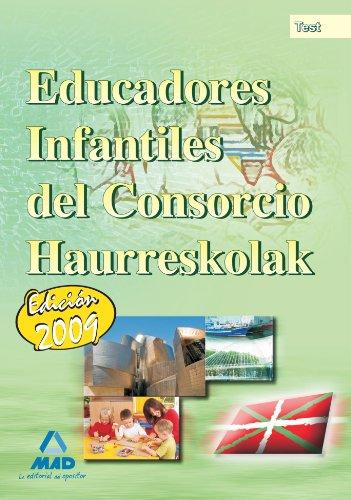 9788467622157: Educadores Infantiles del Consorcio Haurreskolak. Test (Spanish Edition)