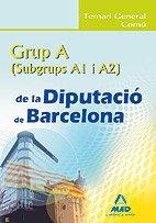 9788467625288: Grup A (A1 y A2) de la Diputacio de Barcelona. Temari General Comu