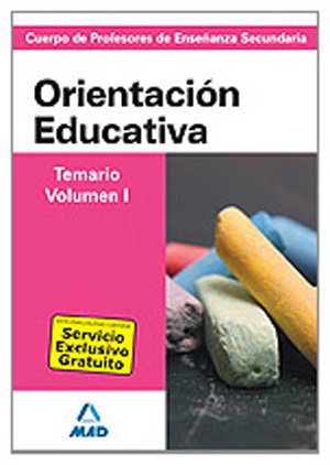 9788467627923: Cuerpo de profesores de enseñanza secundaria. Orientación educativa. Temario. Volumen i (Profesores Eso - Fp 2012)