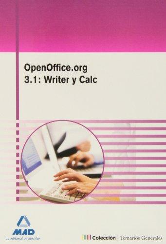 9788467628708: Openoffice.Org 3.1: Writer Y Calc