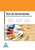9788467628722: Test De Herramientas Para Funciones Básicas De Diversos Oficios