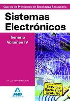 9788467638318: Cuerpo de Profesores de Enseñanza Secundaria. Sistemas Electrónicos. Temario. Volumen IV