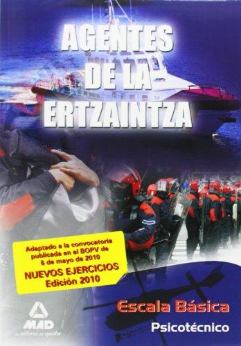 9788467641615: Agentes De La Ertzaintza. Escala Básica. Psicotécnico