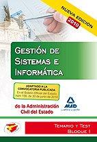 9788467645521: Cuerpo de gestión de sistemas e informática de la administración del estado. Temario y test bloque i