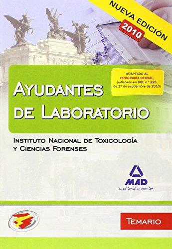 9788467649956: Ayudantes De Laboratorio Del Instituto Nacional De Toxicología Y Ciencias Forenses. Temario