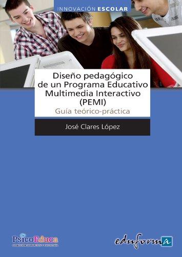 Diseño Pedagógico de un Programa Educativo Multimedia: Jose Clares López
