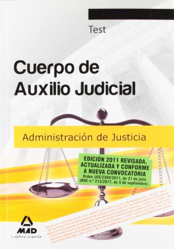 9788467657418: Cuerpo de Auxilio Judicial de la Administración de Justicia. Test (Spanish Edition)