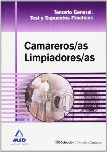 9788467661668: Camareros/As Limpiadores/As. Temario General, Test Y Supuestos Prácticos
