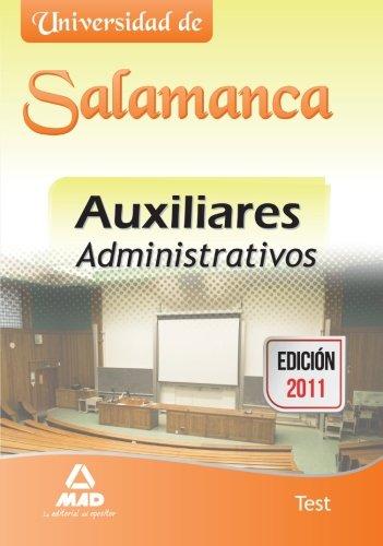 9788467670745: Auxiliares administrativos de la Universidad de Salamanca. Test