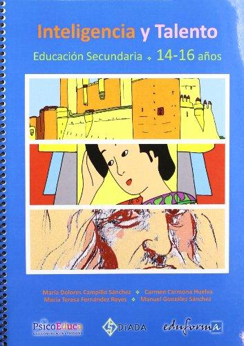 9788467670769: Inteligencia y Talento. Cuadernillo de Educación Secundaria 14-16 años