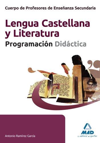 9788467681284: Lengua Castellana Y Literatura - Programacion Didactica (Profesores Eso - Fp 2012)