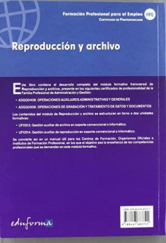9788467683721: #REPRODUCCION Y ARCHIVO MODULO TRANSVERSAL