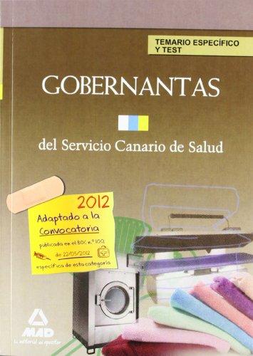 9788467683844: Temario/test p.e. - gobernantas del servicio canario de salud (Canarias (mad))