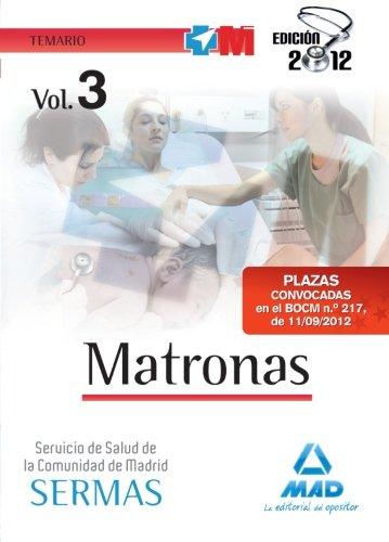 9788467685633: Temario Iii - Matronas Del Servicio Salud Madrid - Sermas (Madrid (mad))