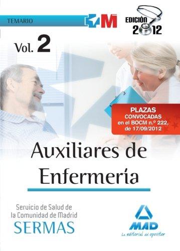 9788467685879: Temario Ii - Auxiliares Enfermeria Servicio Salud Madrid (Madrid (mad))