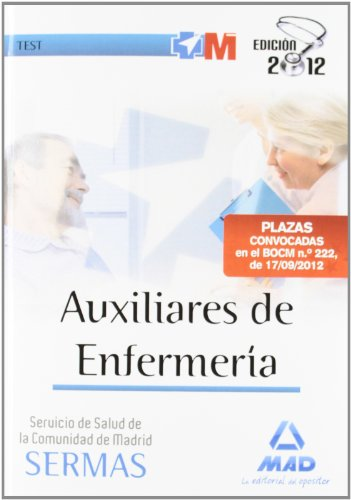 9788467686029: Auxiliares de Enfermería del Servicio de Salud de la Comunidad de Madrid. Test
