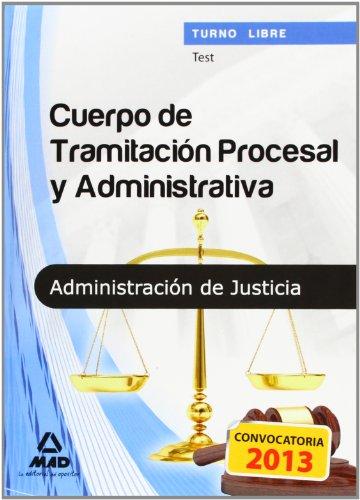 9788467688108: Cuerpo de Tramitación Procesal y Administrativa (Turno Libre) de la Administración de Justicia.Test