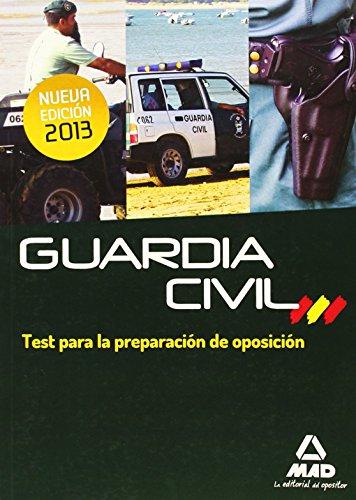 9788467692921: Guardia Civil. Test para la Preparación de Oposición
