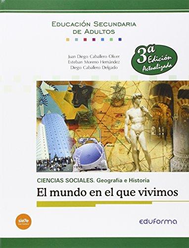 CIENCIAS SOCIALES: GEOGRAFÍA E HISTORIA. EL MUNDO: MORENO HERNANDEZ, ESTEBAN