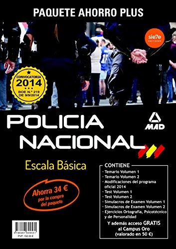 9788467699531: Paquete Ahorro Plus  Escala Básica de Policía