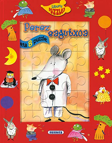 9788467702224: Perez sagutxoa (Liburu Puzzlea)