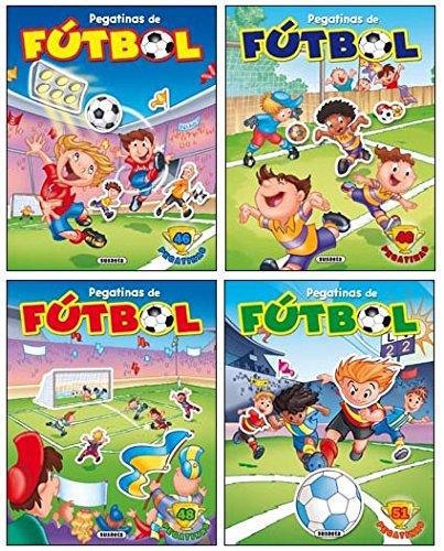 9788467704198: Pegatinas de fútbol (4 títulos)