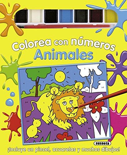 9788467706154: Animales (Colorea Con Números)