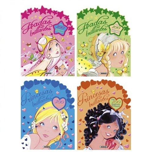 9788467706208: Troquelados con pegatinas brillantes (Pack de 4 libros)