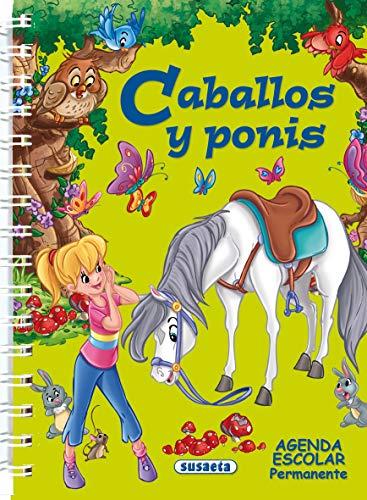 9788467707526: Agenda escolar permanente - Caballos y ponis (Agendas De Caballos Y Ponis)