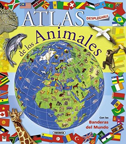 9788467708769: Atlas desplegable de los animales (Atlas desplegable de animales)