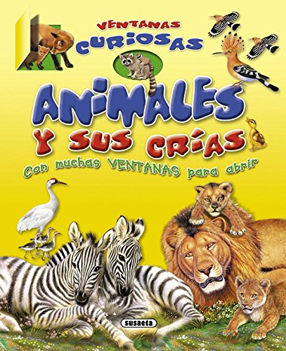 9788467712018: Animales y sus crias / Animals and their calves (Ventanas Curiosas / Curious Windows) (Spanish Edition)