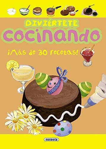 Divi?rtete cocinando (Spanish Edition): Susaeta Publishing, Inc.