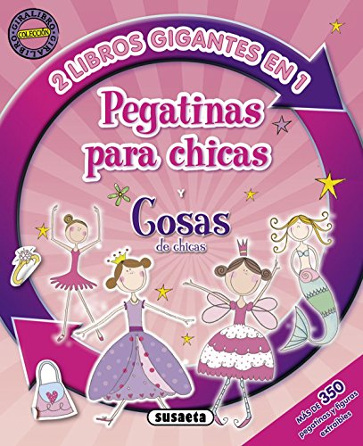 9788467715941: Pegatinas para chicas y cosas de chicas / Stickers for girls and girl stuff (Spanish Edition)