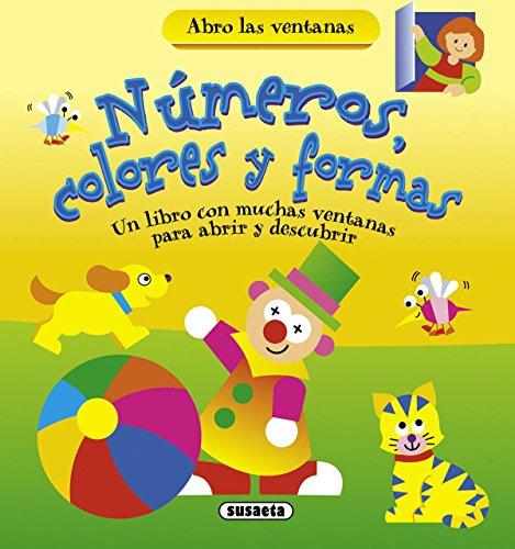 9788467716382: Números, Colores y formas (Abro las ventanas)