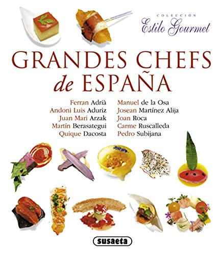 9788467718218: Grandes chefs de españa / Great chefs of Spain (Spanish Edition)