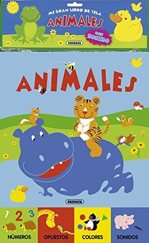 9788467718799: Animales (Mi gran libro de tela)