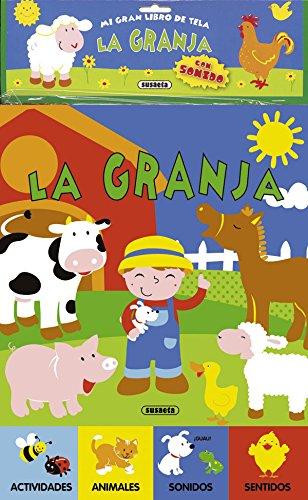 9788467718805: La granja / The farm: Mi Gran Libro De Tela / My Big Book of Fabric (Spanish Edition)