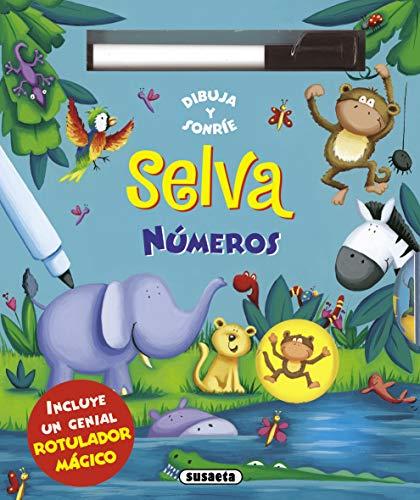 9788467719581: Selva - números (Dibuja y sonríe)